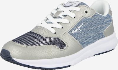 Sneaker low 'SAFFRON' Pepe Jeans pe denim albastru / albastru închis / gri, Vizualizare produs