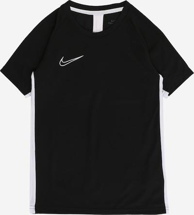 NIKE Funkční tričko 'Academy' - černá / bílá, Produkt