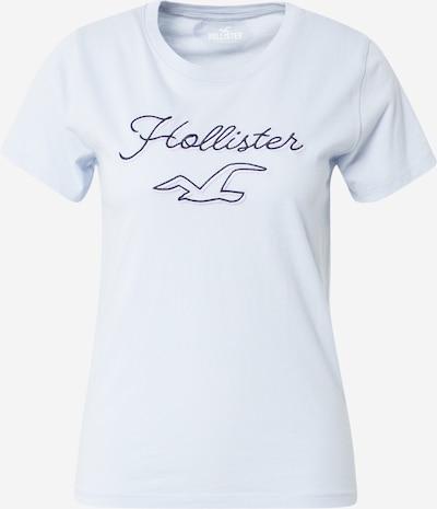 HOLLISTER Shirt in hellblau / dunkelblau, Produktansicht