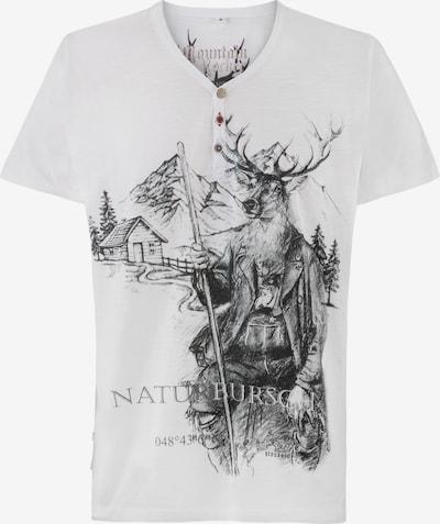 STOCKERPOINT Shirt in schwarz / weiß, Produktansicht