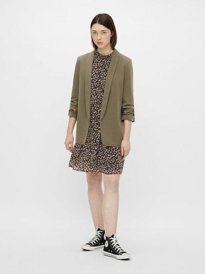 PIECES Blazer in Khaki / Olive, View model