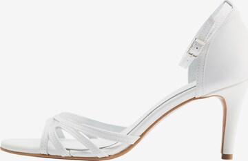 DreiMaster Klassik Sandalen met riem in Wit
