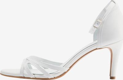 DreiMaster Klassik Sandale in weiß, Produktansicht