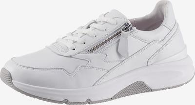 GABOR Baskets basses en blanc, Vue avec produit