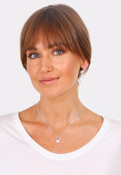 ELLI Ketting in de kleur Zilver: Vooraanzicht