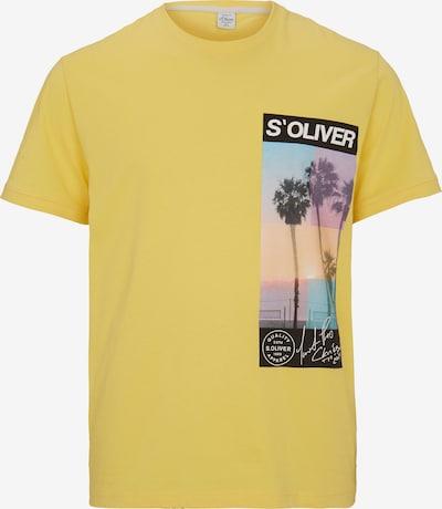 s.Oliver Men Big Sizes T-Shirt in gelb / mischfarben, Produktansicht