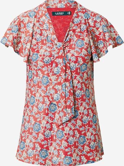 Lauren Ralph Lauren Blouse 'Chui' in de kleur Blauw / Rood, Productweergave
