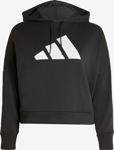 ADIDAS PERFORMANCE Sportief sweatshirt in de kleur Zwart / Wit, Productweergave
