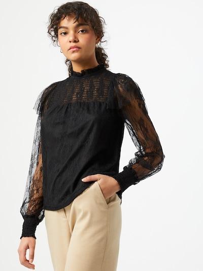 Dorothy Perkins Bluse 'VICTORIANA' in schwarz, Modelansicht