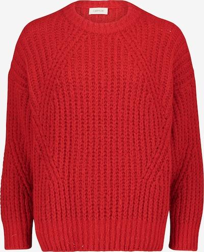 Cartoon Pullover in rot, Produktansicht