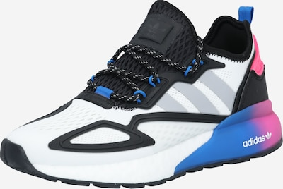 ADIDAS ORIGINALS Sports shoe 'ZX 2K Boost' in blue / pink / black / white, Item view