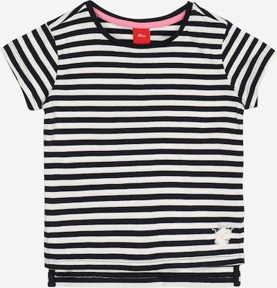 s.Oliver Shirt in marine / weiß, Produktansicht