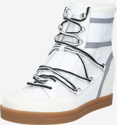 Calvin Klein Après-ski 'FIORENZA' en gris / blanc, Vue avec produit
