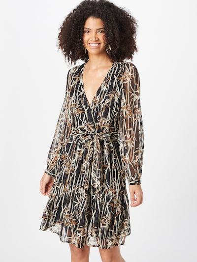 OBJECT Kleid 'Erika' in mischfarben / schwarz, Modelansicht