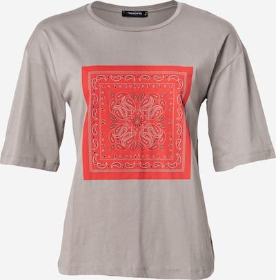 Trendyol Tričko - sivá / červená / čierna, Produkt