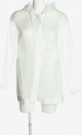 ZARA Regenjacke in M in schwarz / weiß, Produktansicht