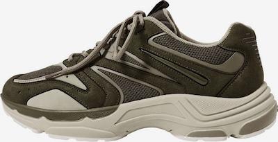 MANGO MAN Sneakers 'ground' in Dark beige / Brown / Khaki, Item view