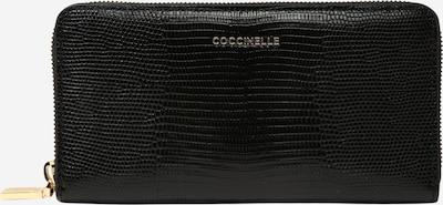 Coccinelle Geldbörse 'Lizard' in schwarz, Produktansicht