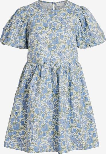 VILA Kjole 'Donna' i lyseblå / gul / oliven / hvid, Produktvisning