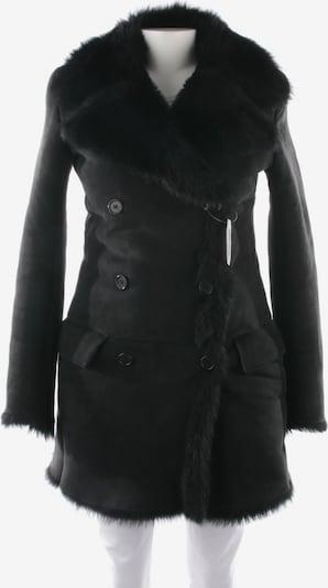 HELMUT LANG Lammfellmantel in M in schwarz, Produktansicht
