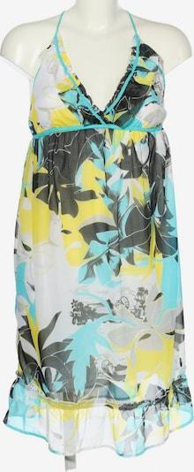 BRUNOTTI Sommerkleid in S in türkis / pastellgelb / schwarz, Produktansicht