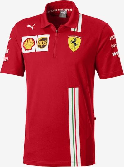 PUMA Functioneel shirt in de kleur Rood / Wit, Productweergave