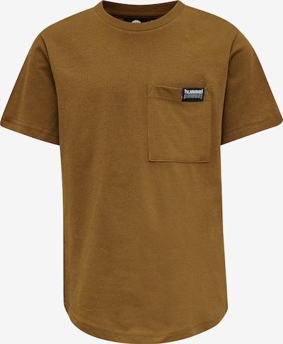 Hummel Functioneel shirt in de kleur Bruin / Zwart / Wit, Productweergave