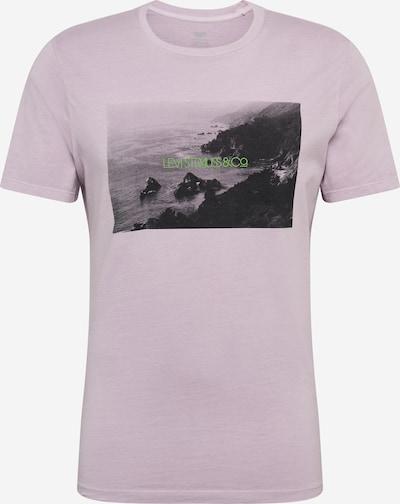 LEVI'S Shirt in de kleur Lavendel / Zwart, Productweergave