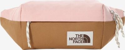 THE NORTH FACE Riñonera 'Lumbar' en chamois / marrón / rosa / blanco, Vista del producto