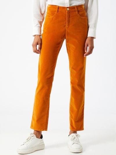 BRAX Pantalon 'Mary' en orange, Vue avec modèle