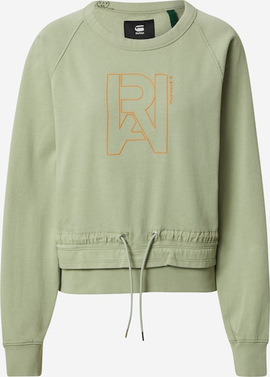 G-Star RAW Sweatshirt in khaki / orange, Produktansicht