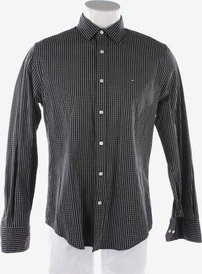 TOMMY HILFIGER Freizeithemd / Shirt / Polohemd langarm in S in schwarz, Produktansicht