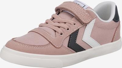 Hummel Sneaker in altrosa / schwarz / weiß, Produktansicht