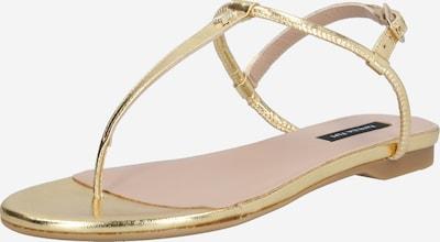 PATRIZIA PEPE Sandale in gold, Produktansicht