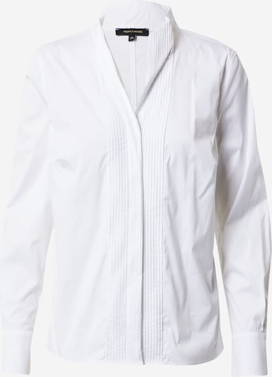 MORE & MORE Bluse in offwhite, Produktansicht
