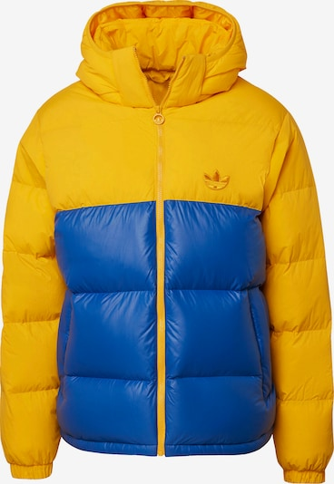 ADIDAS ORIGINALS Winterjacke in blau / gelb, Produktansicht