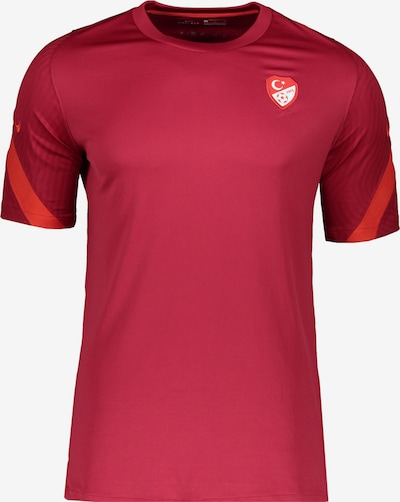 NIKE T-Shirt in rot: Frontalansicht