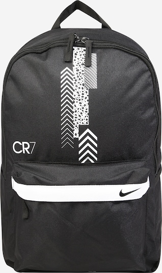 NIKE Sports backpack 'CR7' in black / white, Item view