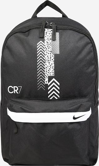 NIKE Sportrucksack 'CR7' in schwarz / weiß, Produktansicht