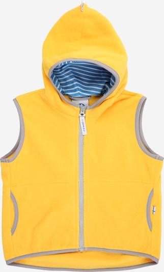 Gilet 'POPPELI' FINKID di colore giallo / grigio, Visualizzazione prodotti