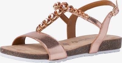TAMARIS Strap sandal in Rose gold, Item view