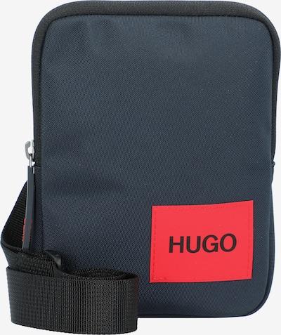 HUGO Чанта за през рамо тип преметка 'Ethon' в тъмносиньо / червено / черно, Преглед на продукта