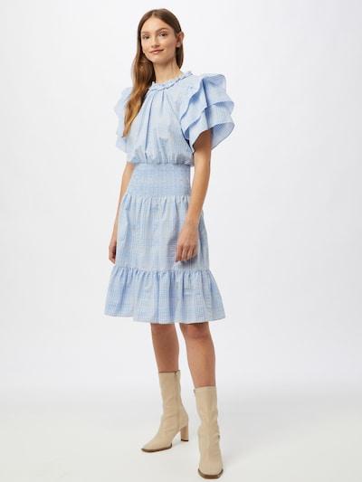 Stella Nova Robe 'Camine' en bleu / blanc, Vue avec modèle