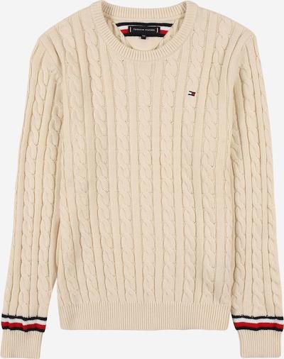 TOMMY HILFIGER Sweter w kolorze beżowy / czerwony / czarny / białym, Podgląd produktu