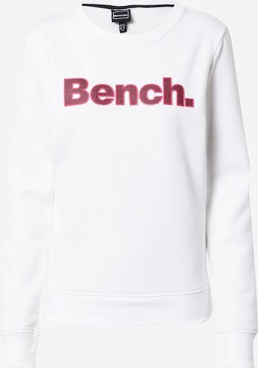 BENCH Суичър в розово / черно / бяло, Преглед на продукта