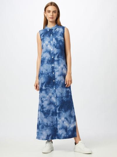 GAP Kleid in blau / himmelblau / weiß, Modelansicht