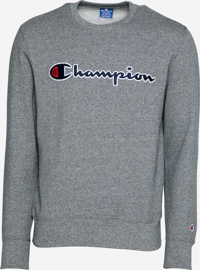 Champion Authentic Athletic Apparel Sweatshirt in marine / graumeliert / rot / weiß, Produktansicht