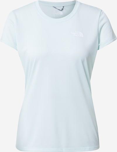THE NORTH FACE T-shirt 'Reaxion' i pastellgrön / vit, Produktvy
