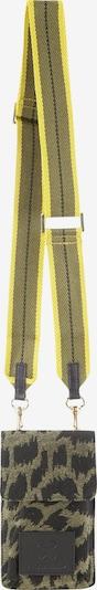 CODELLO Crossbody Bag in Dark yellow / Gold / Green / Black, Item view