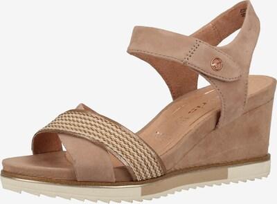 TAMARIS Sandalen in puder, Produktansicht